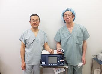 お茶の水血管外科(廣川院長)を当院看護師と訪問、手術見学